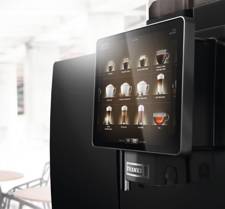 Franke A800 Coffee Machine